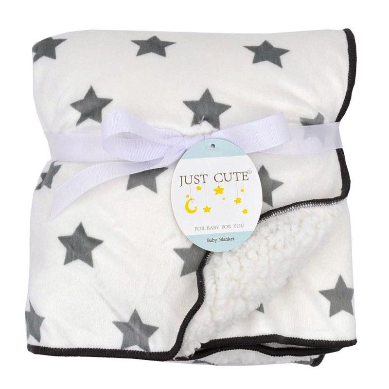 Bebê cobertores quentes Velo Coral Infantil de gavetas Thicken Double Layer Vários desenhos animados Stroller Enrole bebê recém-nascido Cama Cobertor 1016