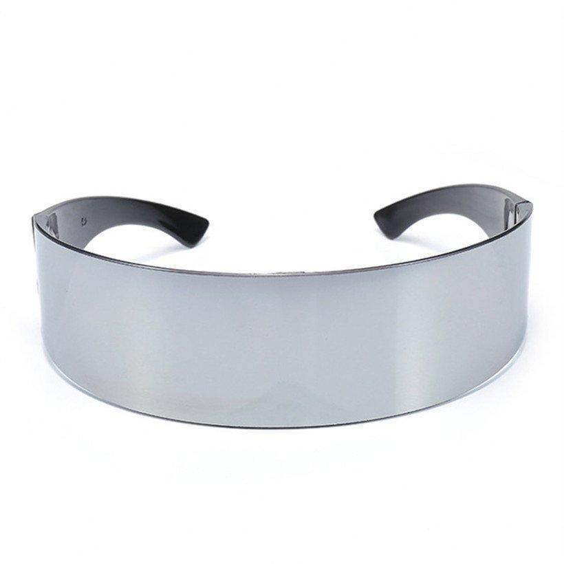 Nywooh Солнцезащитные очки вокруг Обертывания Очки Cool Поставки Вечеринка Nywo Костюм Маска Женщины XVCG # Новинка Мужчины Украшения Моноб Halloween Fairband Qaqc