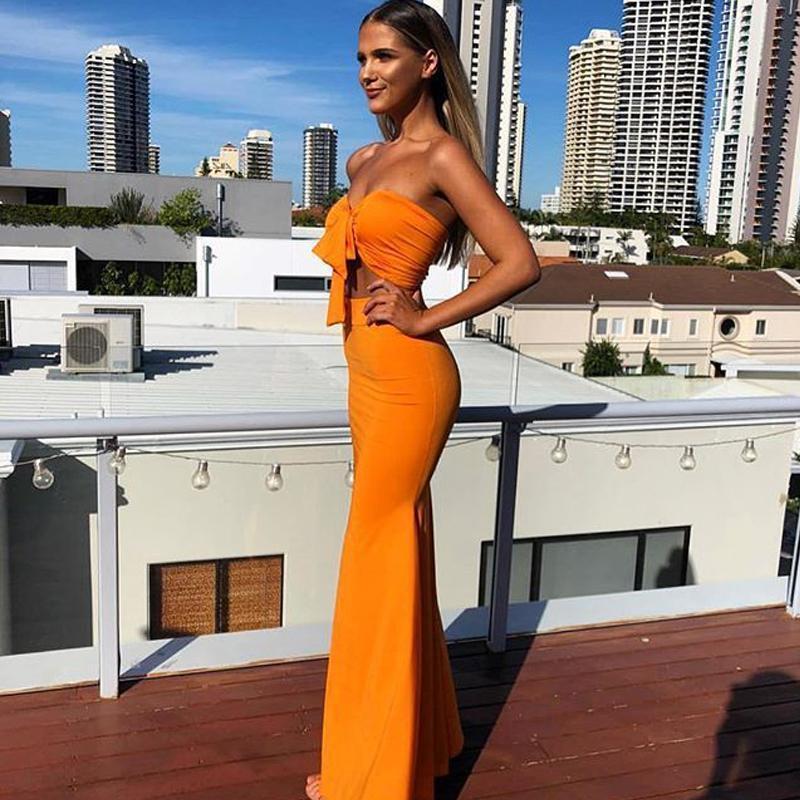 NATTEMAID Kapalı Omuz Seksi Maxi Uzun Elbise Kadınlar BODYCON Elbise Şık Sonbahar Akşam Partisi Kulübü Giyim vestidos 2020