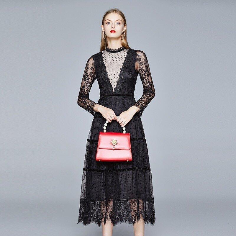 Designer-Kleider für Frauen Kleider für Frauen Kleider empfehlen Großhandel neue besten gehetzte klassische einfache K3V6