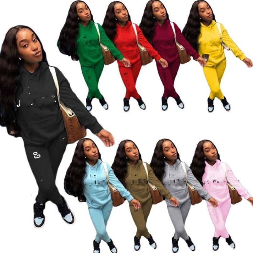 النساء رياضية مثير طويلة الأكمام 2 قطعة الرياضية اللياقة البدنية مريحة ملابس فاخرة بسيطة جودة عالية فريدة بسيطة klw5118