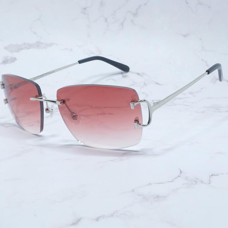 Marca Corte personalizado Adge Retro Gold Diseño aleatorio Metales Sunglass Carter Gafas de sol de moda Hombres de gran tamaño INXTD