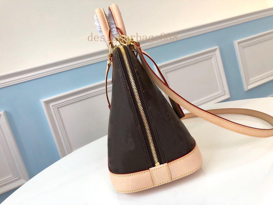 Çanta Alma M53151 Tasarımcılar Tote Luxurys Kadın BB Deri Çanta Messenger Alışveriş Crossbody Cüzdan Çanta N41221 Omuz Rdoie