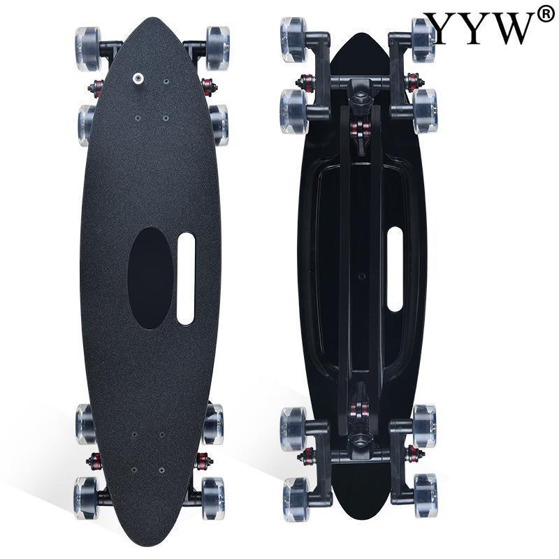 Skateboarding 2021 Marca 8 Rodas Skate Curiser Land Curiser Big Fish Board Flat CARVER SURT Skate para Iniciante piscando Longboards