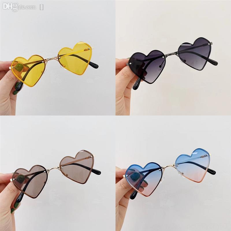 Koyu Göz Renk Yuvarlak Yeşil Erkek Gözlük Cam Dener Candy UAACTVazrobe Gözlük Aşk 2021 Gözlük Güneş Gözlüğü Bayanlar Güneş Miqui Için Yeni