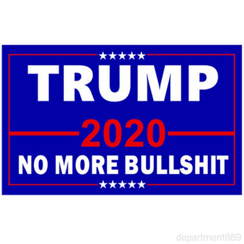 2020 Trump Polyester Donald American Banner Flagge Präsident Wahlwahlen Hanging Flaggen OWF651
