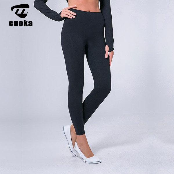 . 요가 바지 여성 요가 옷 높은 허리 엉덩이 압력을 뻗어있는 다리를 타고 착용하고 꽉 짜는 탄성 바비