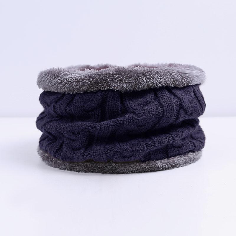 2020 écharpe d'hiver Mode MenThickened chaud écharpe collier de laine Foulards en coton col unisexe