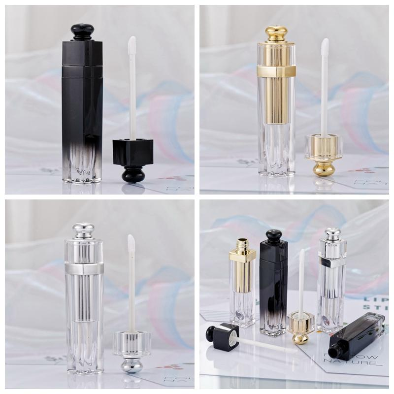 5ml Lip Gloss Tubes Clear Empty Lip Gloss Tube Lip Gloss Travel Bottle Packaging Containers Refillable Lipgloss Bottles RRA3813