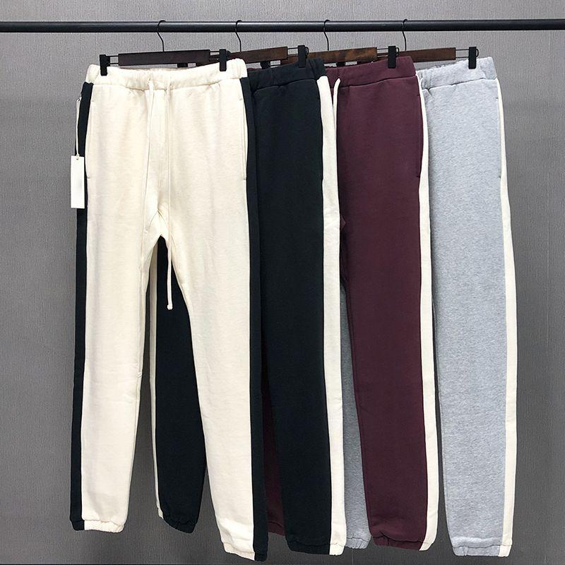 Calças Mens High Street Calças Para Homens Reflexivo Sweatpants Casuais Mens Hip Hop Streetwear Tamanho Asiático 4prl