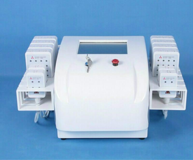Lipo laser Máquinas de perda de peso Máquina de emagrecimento 650nm 980nm Body Beauty Spa 336 Diodo Lipo Laser emagrecimento