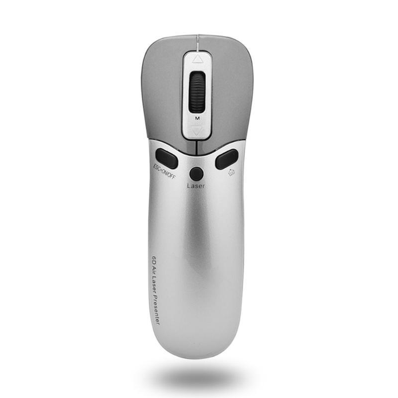 Wireless Air Mouse Ppt Remote Control Laser Flip Pen Briefer Electronic Pointer Projection Demonstrator Mouse