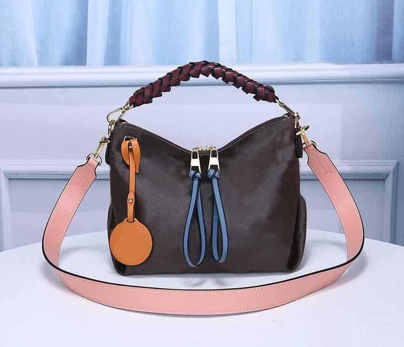 M55090 high quality made in real leather clutch purse handbag bag woman bag shoulder bag serial number insid 03