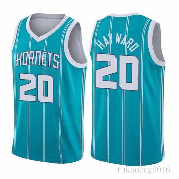 """Lamelo 2 Ball Gordon 20 Hayward Basketball Jersey 2021 New Charlotte """"Hornets"""" Mens Verde Verde"""