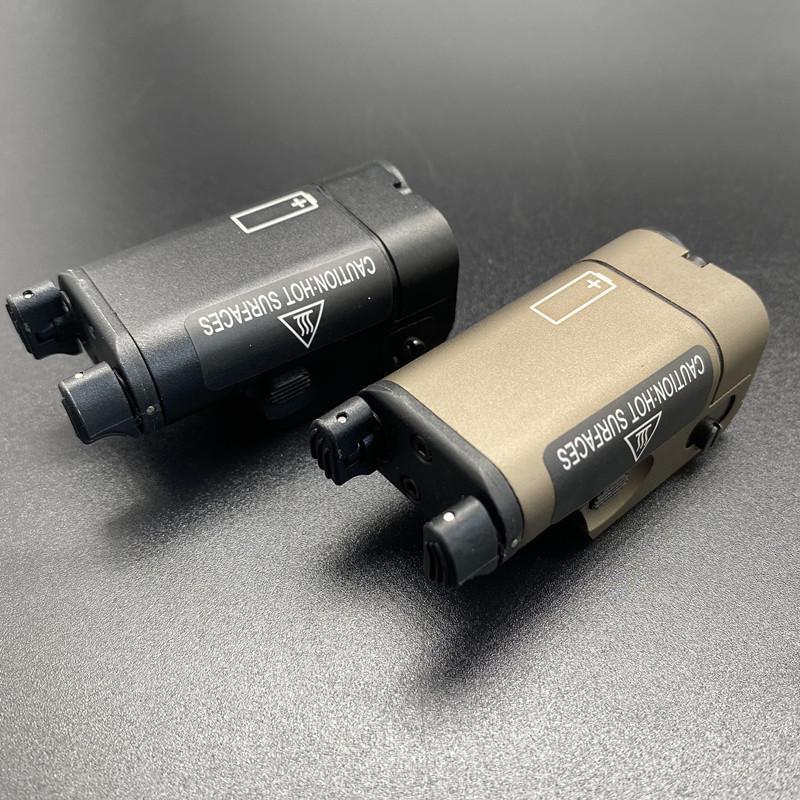 Tactical Low Profile High Lumen xc1pistol flashlight Fit 20mm Rail SF XC1 Ultra Compact M92 Light