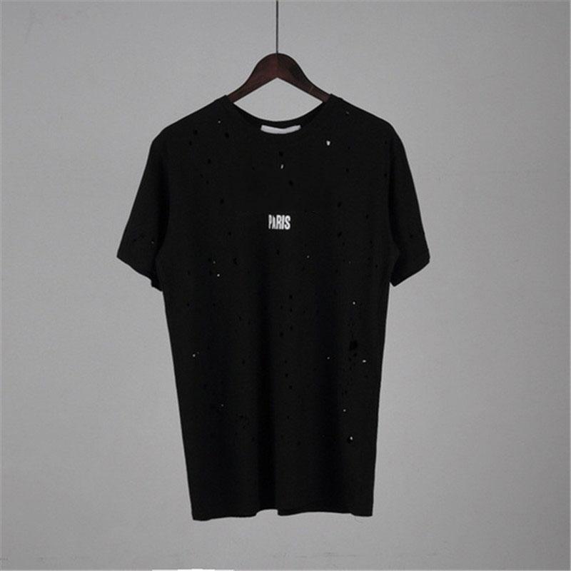 Designer Summer T-shirt Shirt Designer Shirt da uomo e donna Camicia a manica corta Camicia a maniche corte C0py Lettera Stampata Crew Neck Tops Tees S-2XL XY1882205