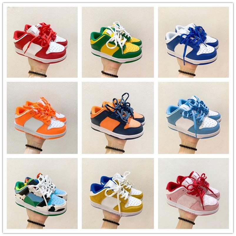Infantil 2020 Chunky Dunk SB Niños Zapatillas para niños Niñas Chicas Casual Moda Zapatillas deportivas Niños Atlético Caminar Transportes deportivos para niños
