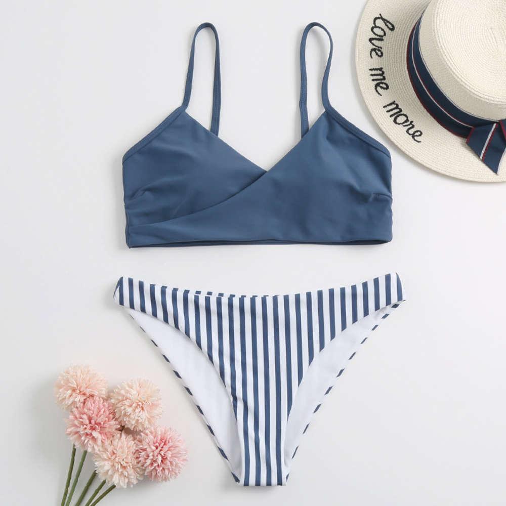 New Bandage Bikini 2020 двухсторонний простотный купальник