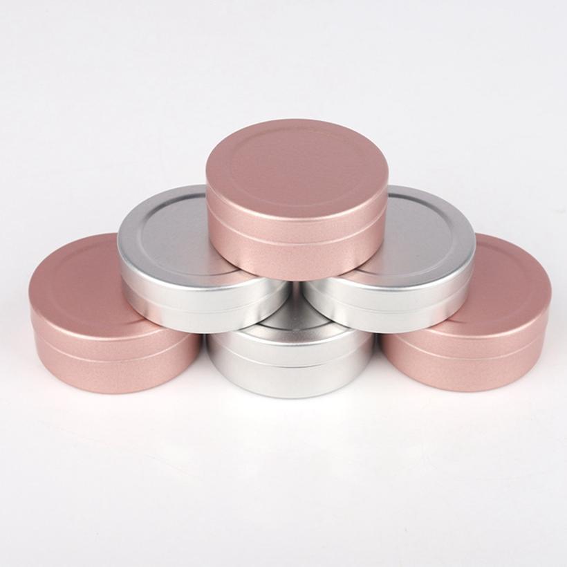 20g Aluminium Jar Box contenitore Cosmetici Imballaggio Bottiglia Bottiglia Eye Shadow Pill Box Portatile 2Colors HHA1707
