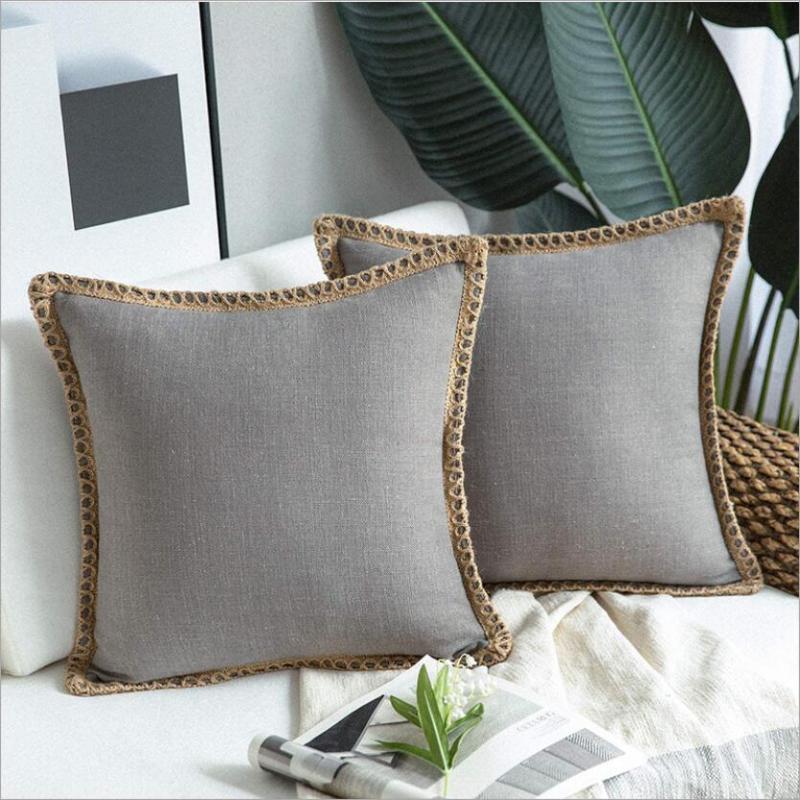 2 pacotes modernos decoração coxim cobre 45x45 para sofá sofá moderno almofada moderna cobre 50x50 cama sala de estar fronha 30x50