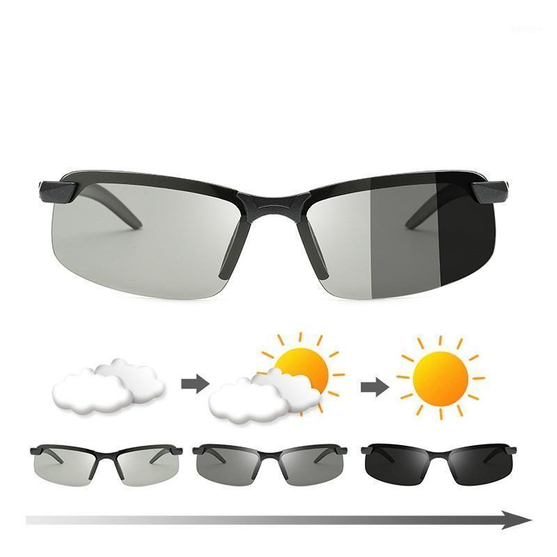 Erilles Klassische photochrome Sonnenbrille Männer Polarisierte Fahren Chamäleon Brille Männliche Änderung Farbe Eyewear UV400 Gafas de Sol1