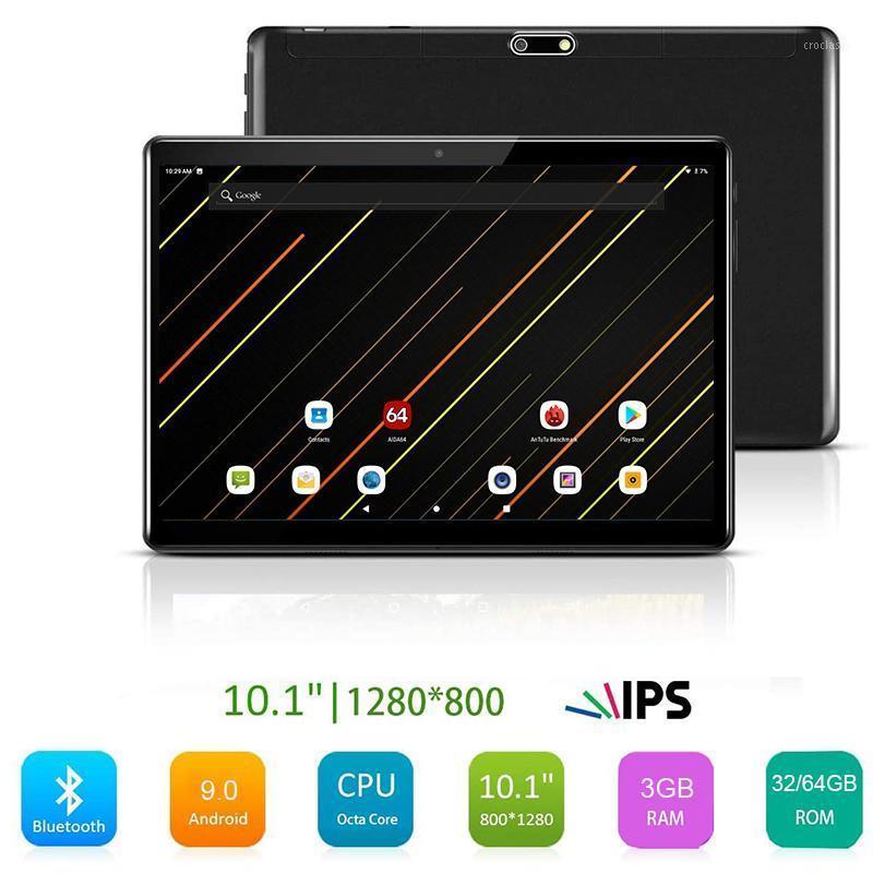 Tablet PC de 10 pulgadas PC OCTA Core 3G + 32/64GB Android 9.0 Google Play 4G LTE Tabletas 10.1 5G WiFi GPS 2.5D 1280x800 Glass templado1