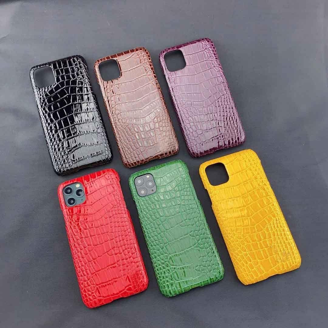 El estilista de teléfono para el iPhone 12 líneas / 11 / 11Pro / Max 11Pro / XR XSMAX X / XS 7P / 8P7 / 8 / diseñadores Crozzling caso clásico de 6 colores disponibles