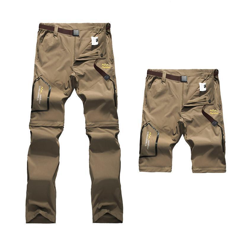 Hombres desmontable elásticos ultrafinas de secado rápido pantalones masculino Niza Niza verano ligero impermeable Pantalones 5XL 7XL