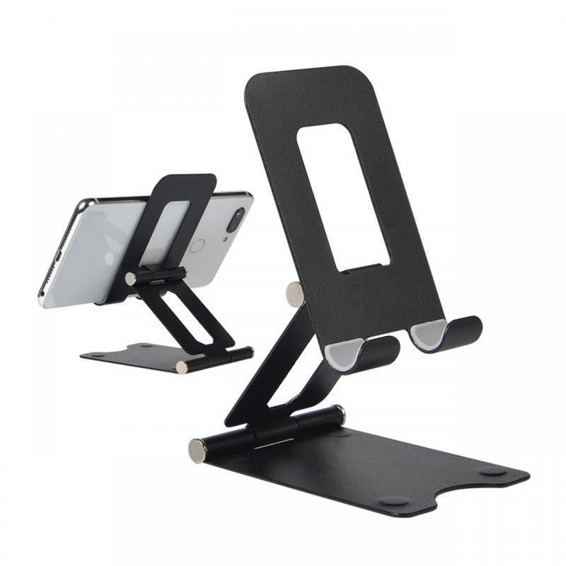 Универсальный складной металлический держатель для телефона для телефона регулируемый рабочий стол для мобильного телефона