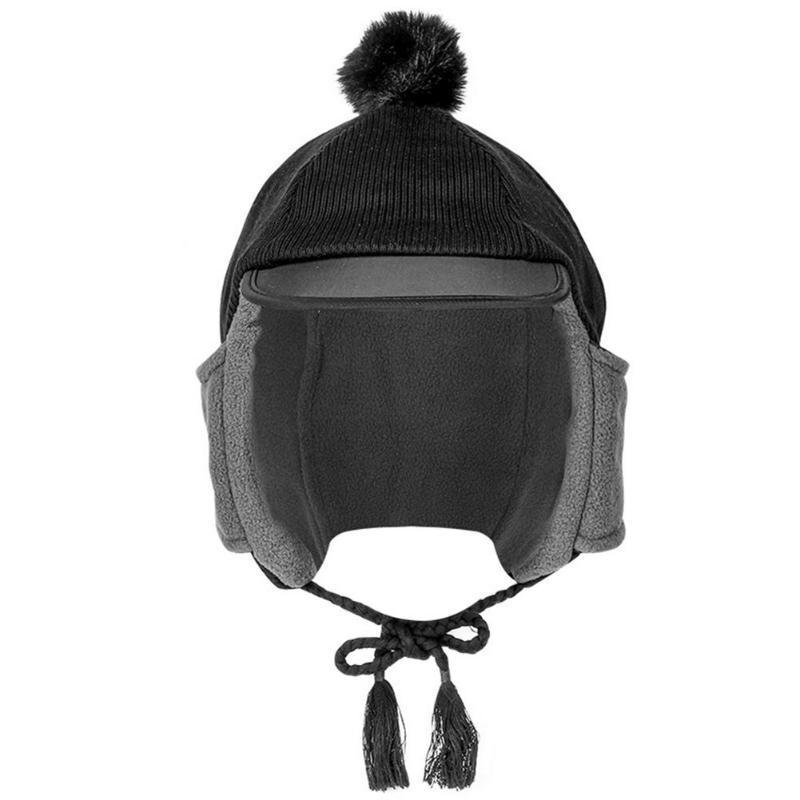 Cyclisme Bonnet d'hiver coupe-vent Casquettes de ski Ski thermique en cours Motocycle équitation Hat pour hommes, femmes VTT Vélo cyclisme Chapeaux Chapeaux