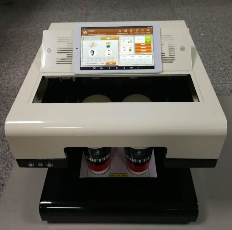Chinese supplier latte art coffee printer/cake & cappuccino coffee printing machine