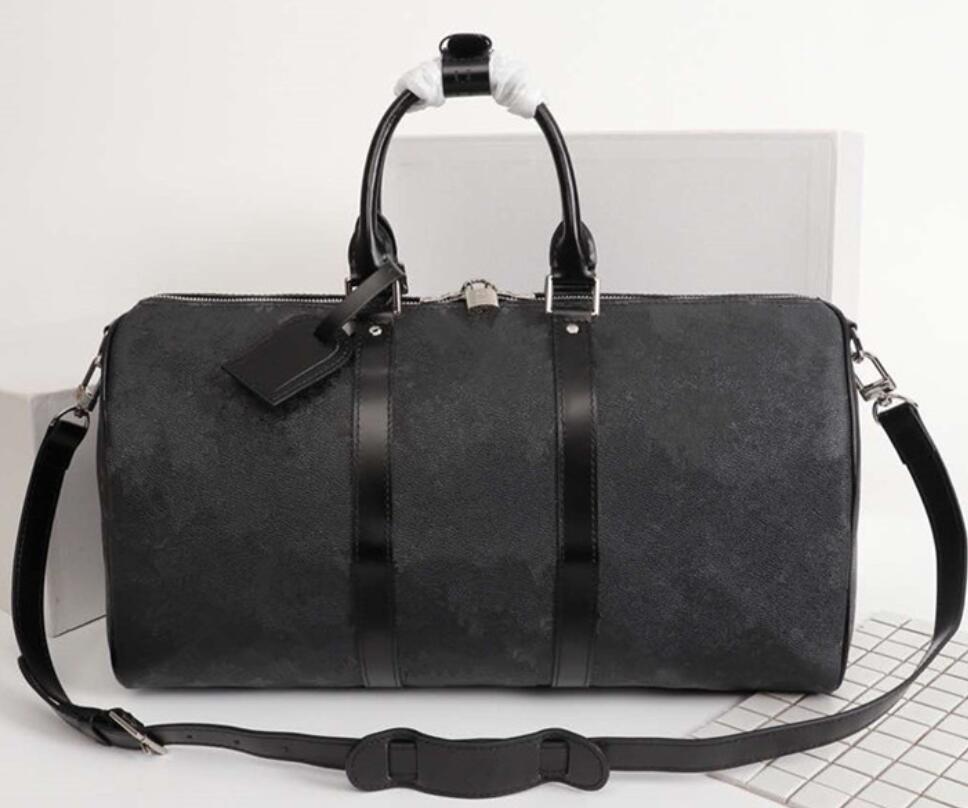 Duffel 55см на плечо нижние женские сумки сумки блокируют багажную сумку Верхнее путешествие нести на качество Heamall Емкость мужчины с заклепками головы rackpa endj