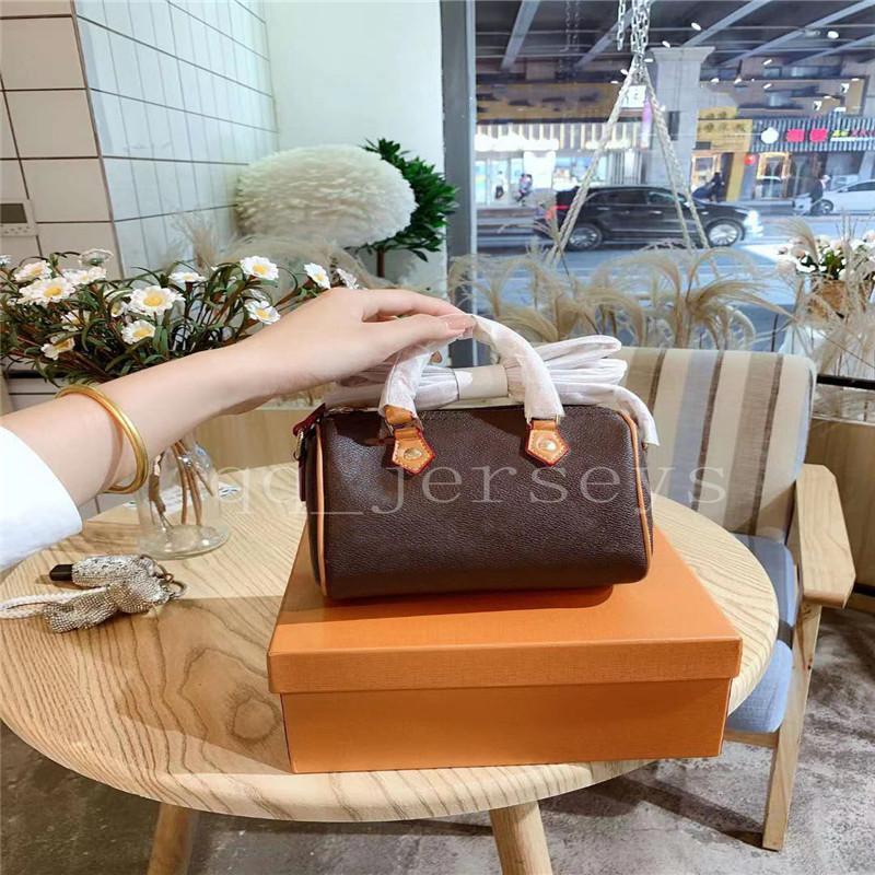 2021 Borsa a tracolla di stampa classica di alta qualità di alta qualità Mini borsa da donna di alta qualità e portafoglio