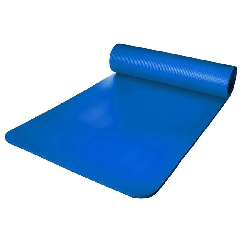 Billig heißer Verkauf umweltfreundliche Fitness natürliche Gummi-Gymnastik MAT YOGA-Verbrauchstreckungsausrüstung benutzerdefiniertes Logo