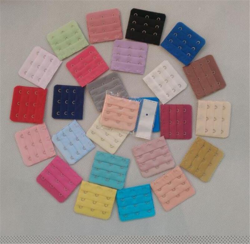 3 file 1,2,3,4,5 ganci Bra Extender Strap delle signore reggiseno senza spalline estensione cinghie regolabili Cintura Maternità Underwear MulticolorLY10143