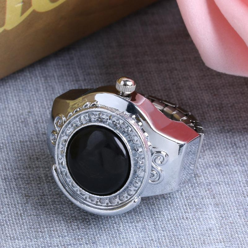 20mm Gemstone Агатовые круглый палец кольцо часы подарка ювелирных изделий Современный стиль