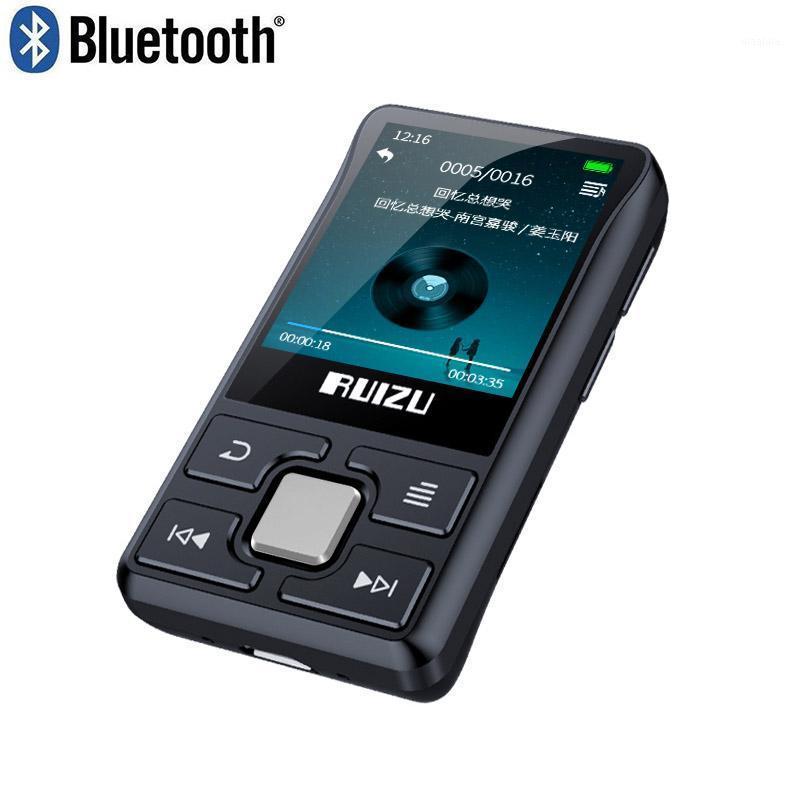Original ruizu x55 clip Bluetooth MP3 player Portable Mini built-in 8G with Pedometer radio recording1