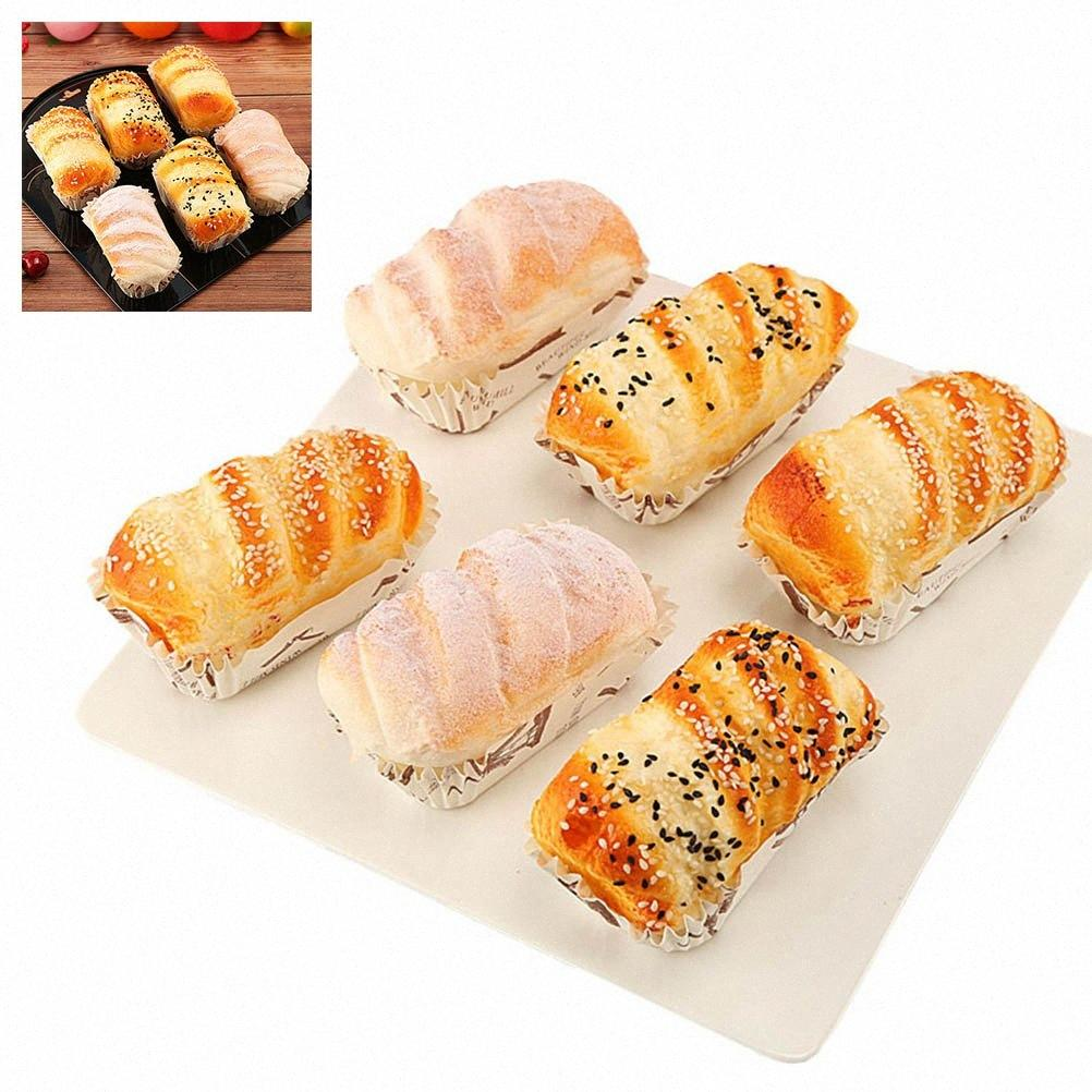 6pcs Frigo magneti sveglio creativo del pane magnetico resina Frigorifero Adesivi Frigorifero Sticker Home Decoration Accessori wPug #