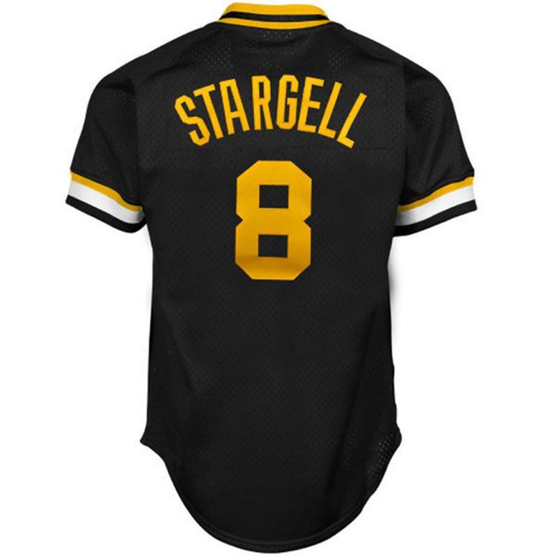 8 Willie Stargell Jersey روبرتو كليمنتي زرزور مارت فرانسيسكو كينت تيكولف يوييه مولينا Ozzie البيسبول