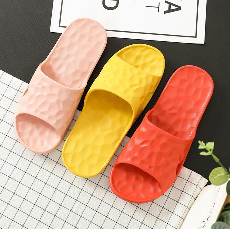 Kadın Sandalet Chaussures Sarı Yeşil Pembe Slaytlar Terlik Bayan Yumuşak Rahat Ev Otel Plaj Terlik Ayakkabı Boyutu 37-40 27
