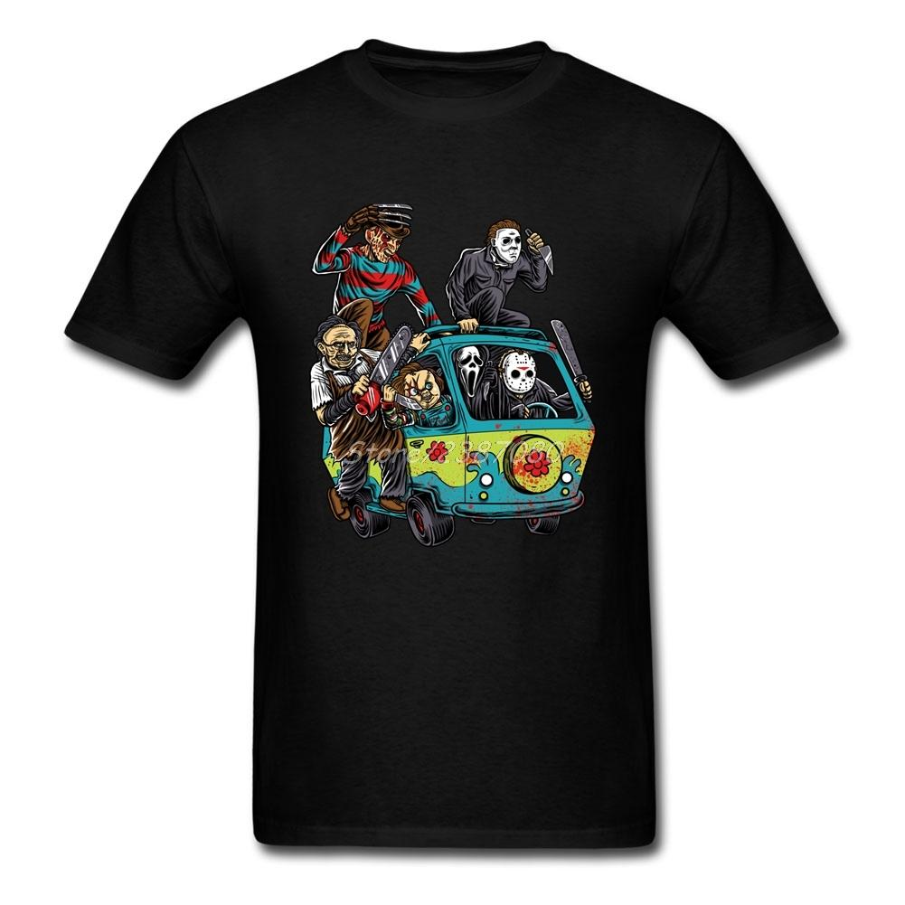 T-shirt sportiva Pp The Massacre macchina Horror T-shirt di cotone paio uomini XXXL manica corta T-shirt personalizzate T Per Ragazzi