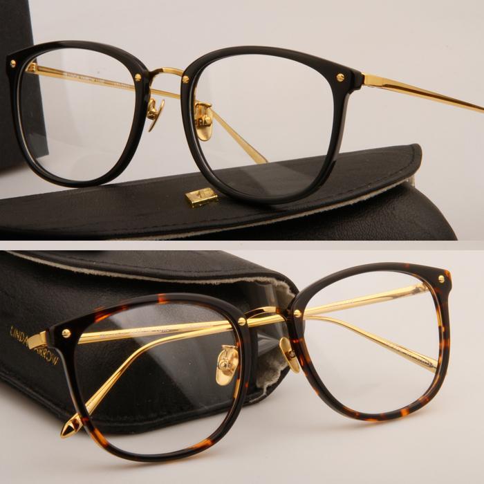 Lunettes de lunettes lunettes de soleil oculos lunettes de soleil LFL222 Cadre Restauration Ancienne Manues Plank Hommes Grau de et Myopie Femmes Cadres Cadres Rwjiw