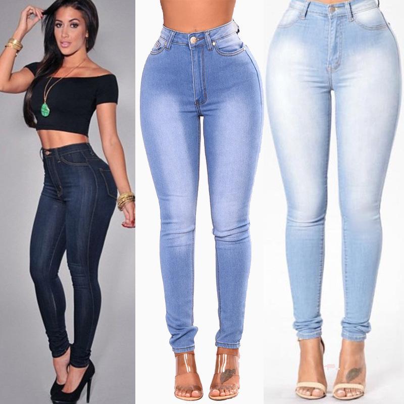 женских женщины джинсовой одежды личность брюки уникальных женщины дизайнер джинсы Femme мода брюки высокой талии Женщина одежды женщина XN201