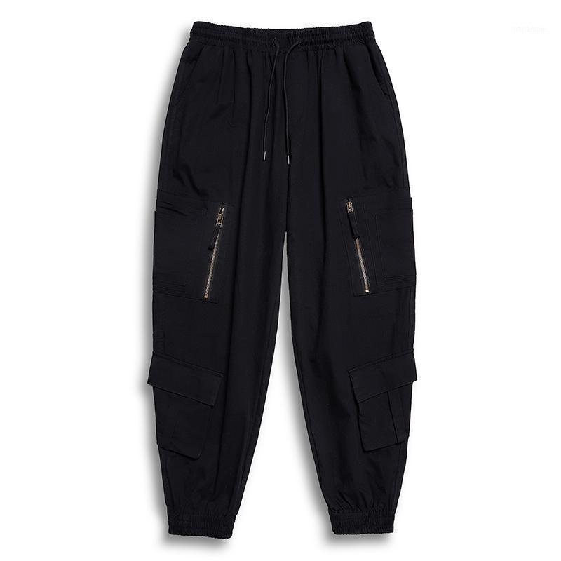 Men's Pants Plus 7XL 6XL 5XL Men's Cargo Joggers Cotton For Man Casual Men Streetwear Loose Trouser Trendy Sweatpants1