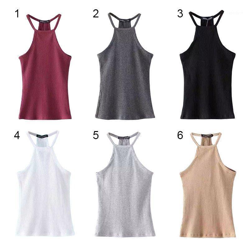 2020 New Sexy Women Tank Halter Sexy Soft Bra Vest Crop Solid Top Bra1