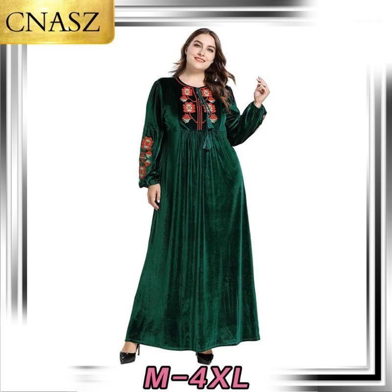DERNIÈRE MUSLIM ROBE DUBAI STYLE ISLAMIQUE TURQUIE PLUS Taille Moyen-Orient Moyen-Orient Jupe brodée Morocan Kimono Pakistan Fashion1