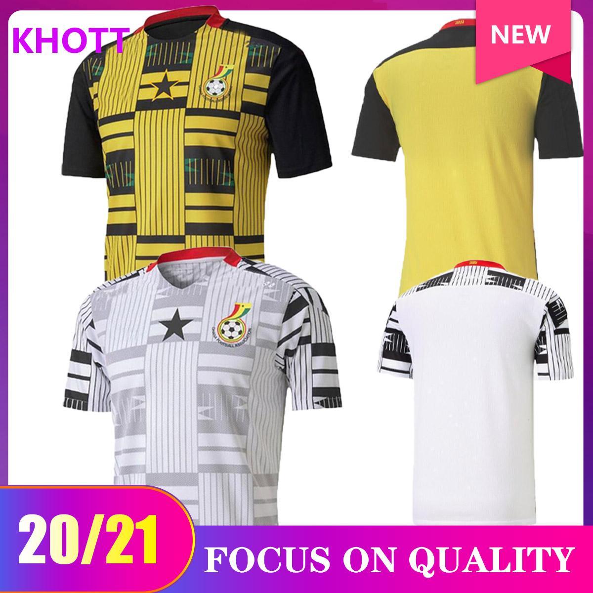 20/21 Ghana THOMAS pullover di calcio 2020 Inizio Schlupp kudus J.Ayew Caleb Ekuban Samuel Owusu camicia di calcio della nazionale di calcio uniformi