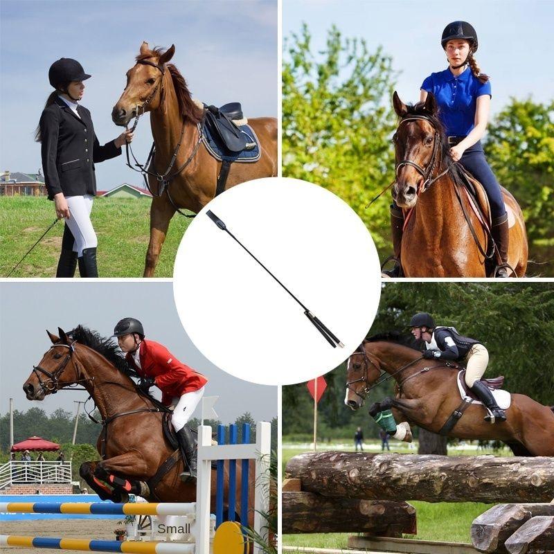 Haute EQUITATION Recolte cheval Fouet en cuir PU fouets légers equitation fouets Cils Seks Oyuncak DOG88