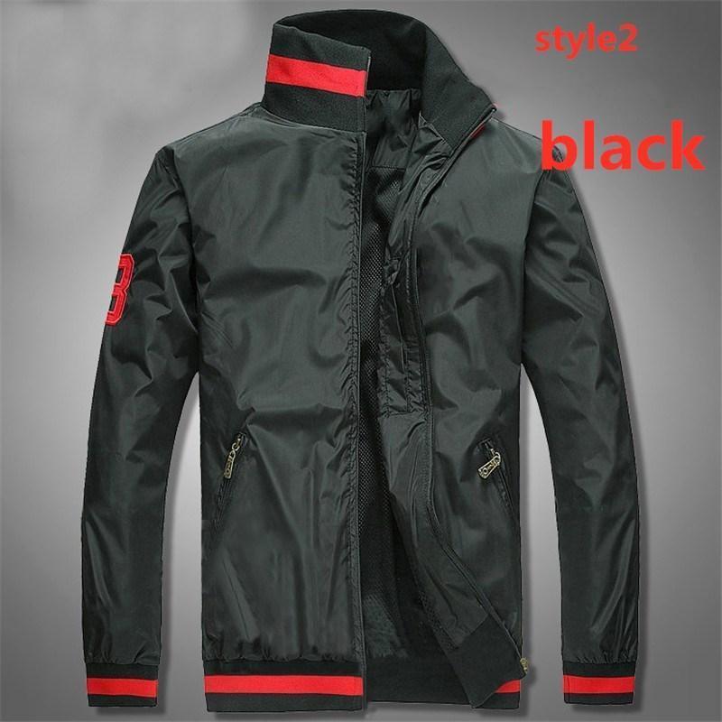 Vendita calda! New Brand Jacket Men Winter Autunno Slim Fit Mens Designer Vestiti da uomo Rosso Giacca casual Slim Plus Size M-3XL