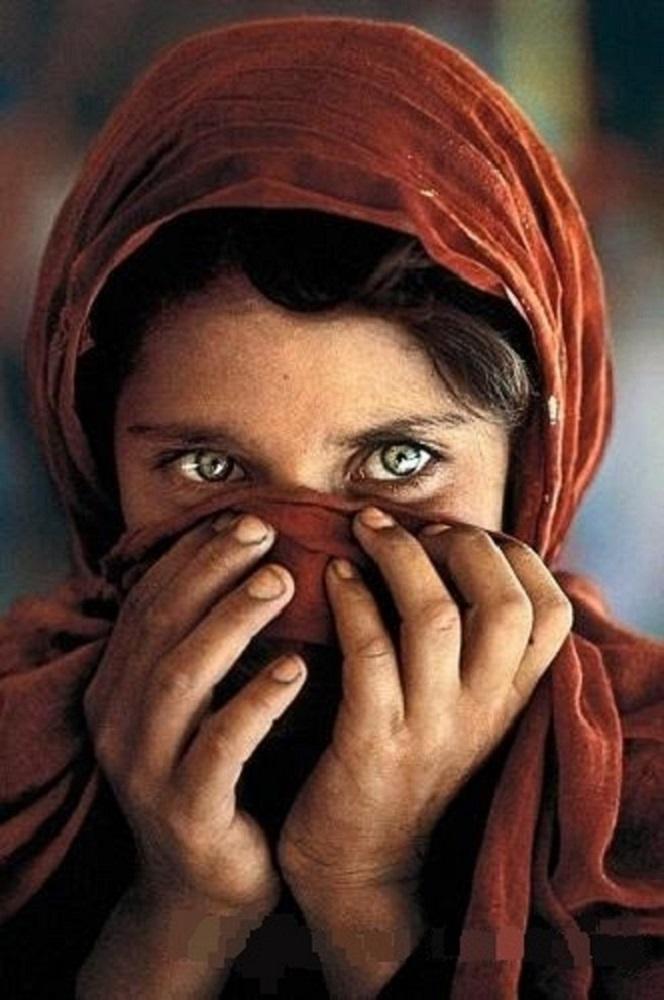 0.5 Sin marco enmarcada Steve McCurry Afganistán calidad chica retrato pintado a mano HD impresión de pinturas al óleo sobre lienzo arte de la pared deco P49 múltiples tamaños